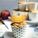Dairy & Gluten Free Peach Muffin Recipe