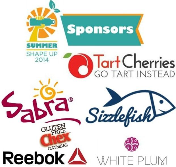 summer shape up 2014 sponsors