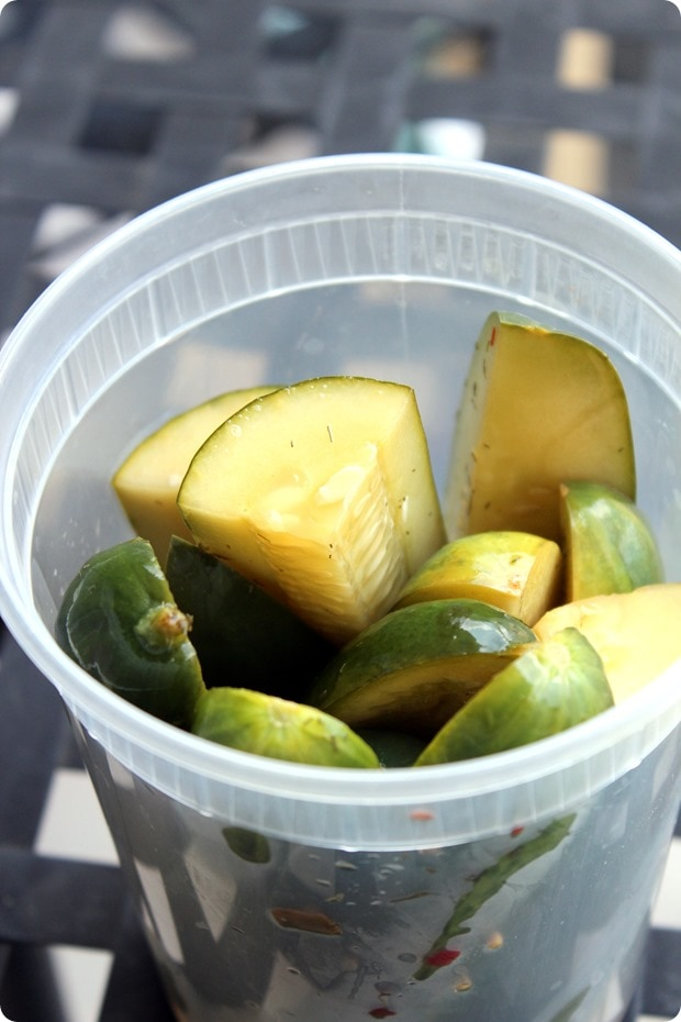 how to pickle cucumbers quickly