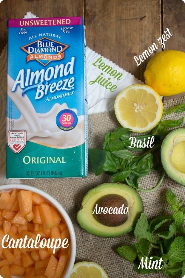 melon avocado gazpacho soup ingredients