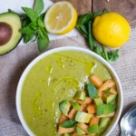 cantaloupe avocado soup recipe