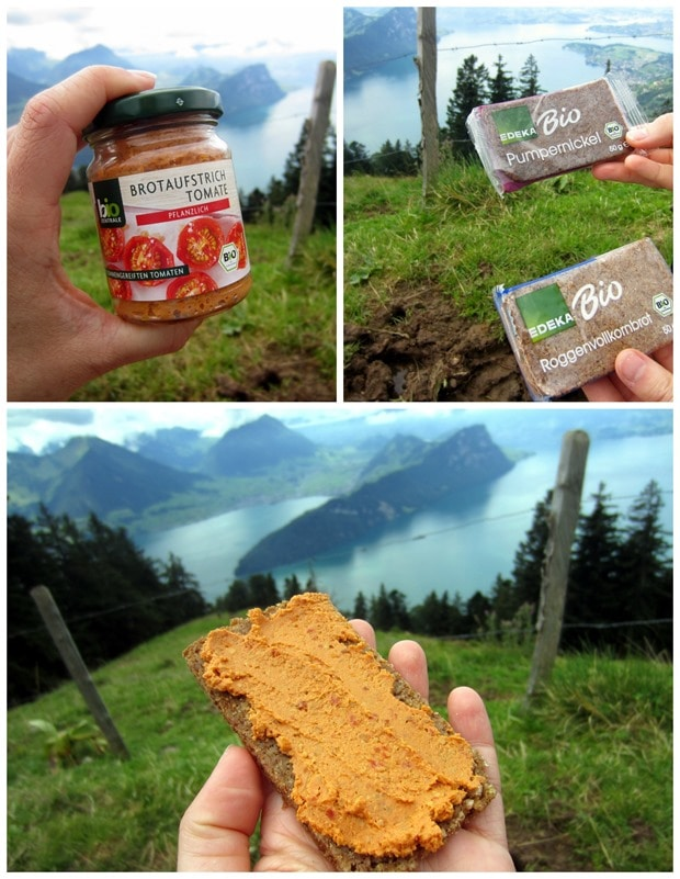 hiking snack switzerland