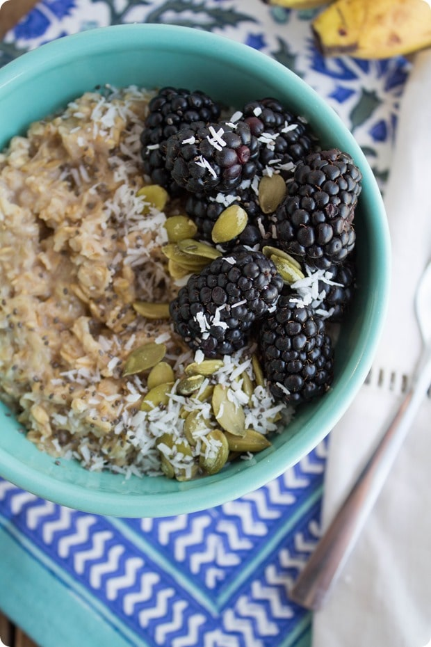 how to make oatmeal more satisfying
