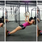 crossfit ring rows