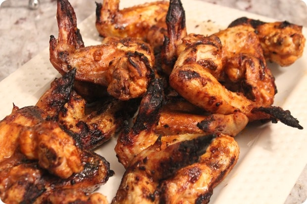 gluten free grilled taco wings