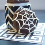 spiderweb maple brownie cookies1