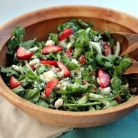 Strawberry and Fennel Barley Salad