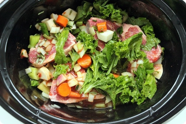 how to make slow cooker lamb stew
