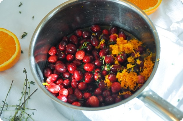cranberry sauce homemade