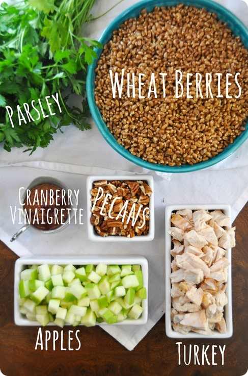 wheat berry salad ingredients