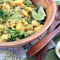 Caribbean Shrimp Quinoa Salad