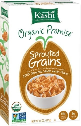 Kashi Sprouted Grains Box 3D
