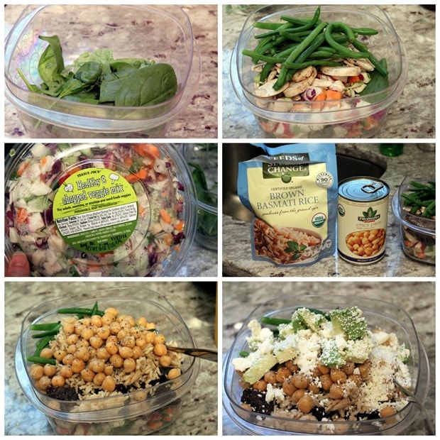 easy healthy packed lunch vegetarian