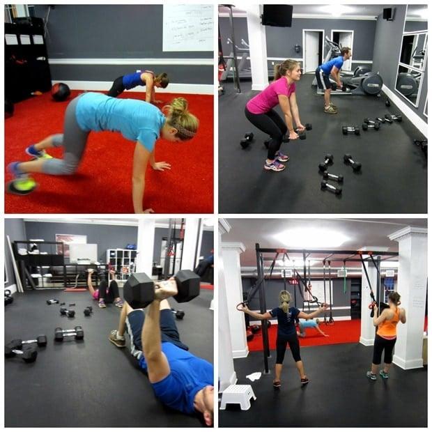 urban athletic club workout