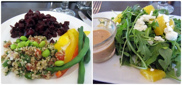 canyon ranch dining room lunch
