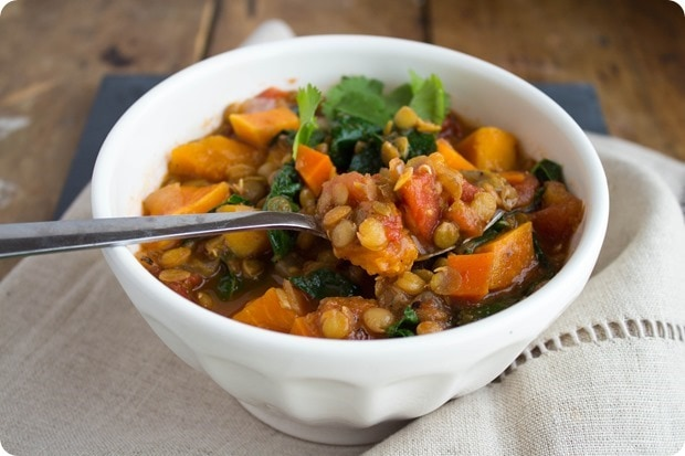 sweet potato lentil chili (2)