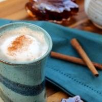 Matt's Maple Latte with Cinnamon
