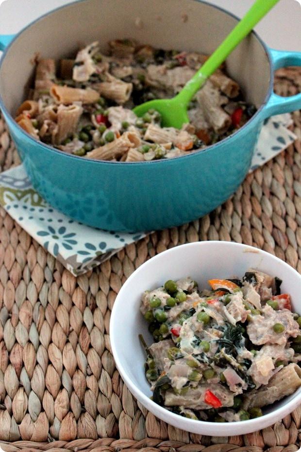healthy tuna noodle casserole recipe