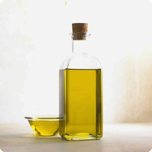 Olive oil in a bottle: a great cooking oil for high heat