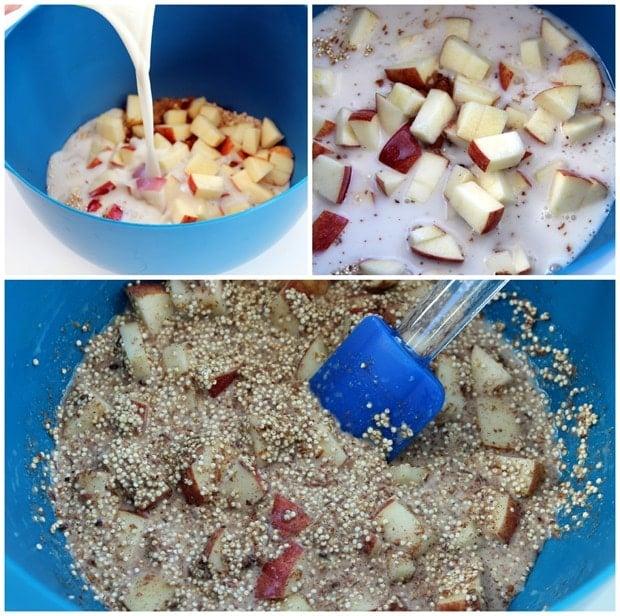 quinoa breakfast bake ingredients 1