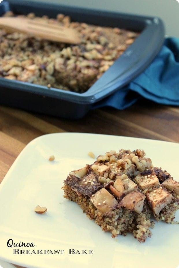 quinoa breakfast bake recipe