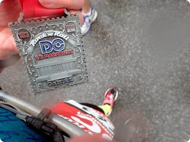 rock n roll dc 2015 half marathon medal