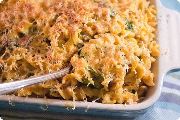 butternut squash mac n cheese recipe