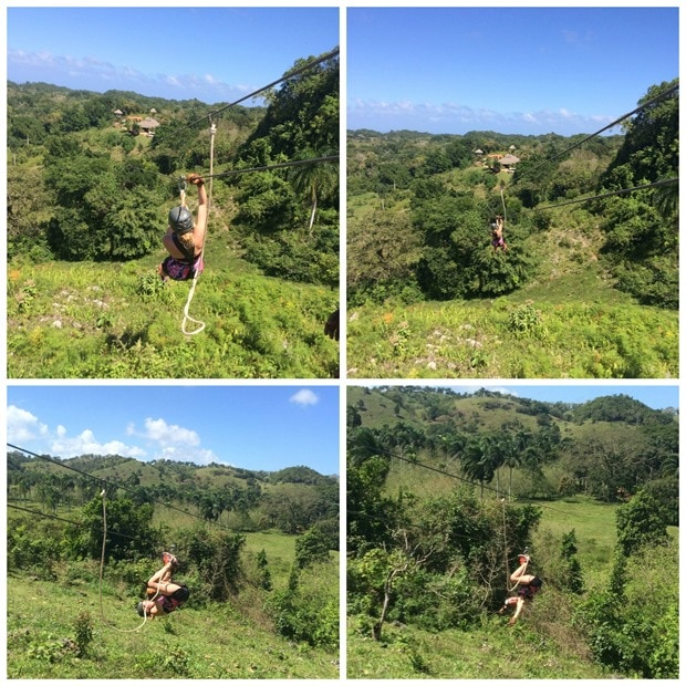 monkey jungle zip lining