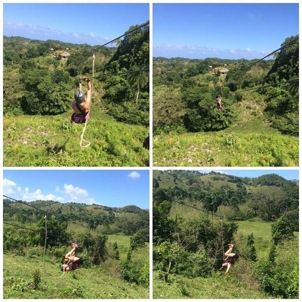monkey jungle zip lining