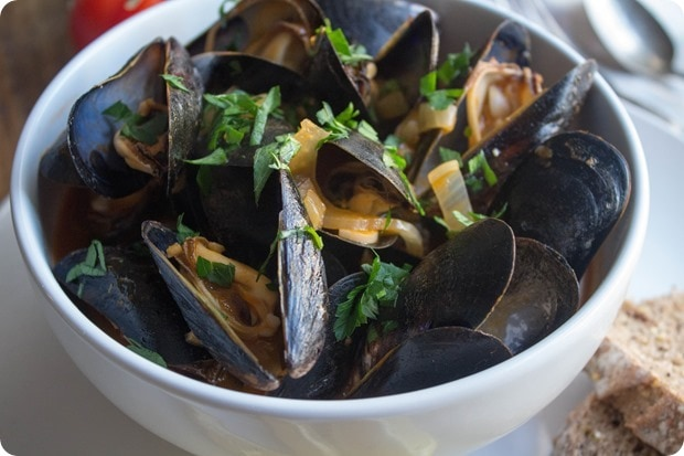 mussels creamy tomato fennel broth recipe
