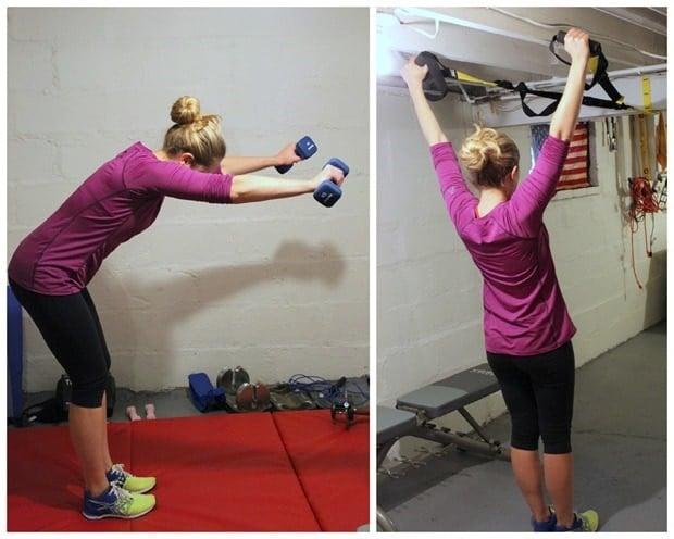 shoulder exercise Y