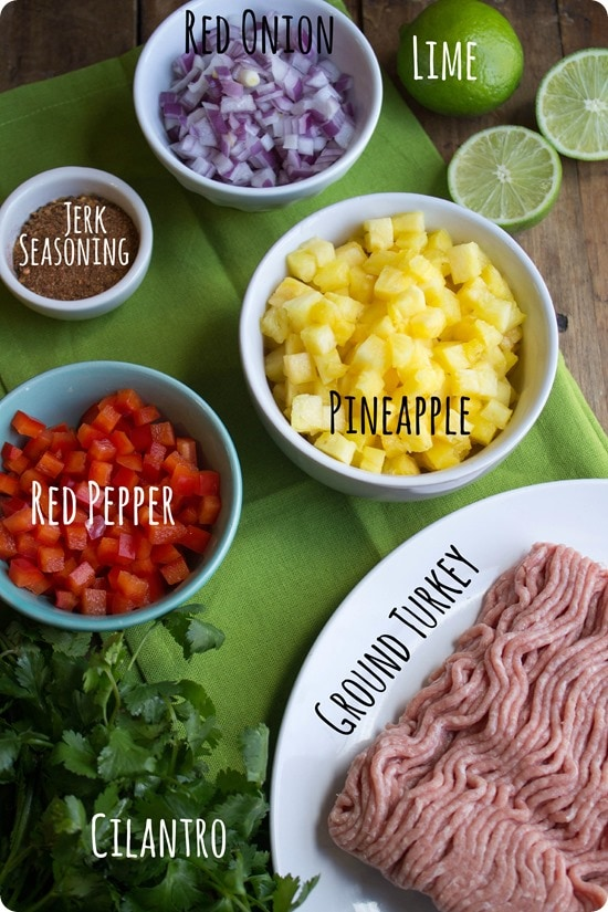 turkey burger ingredients