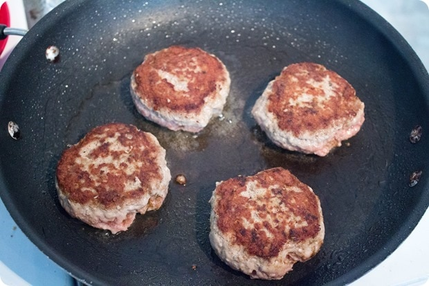 how to make turkey burgers