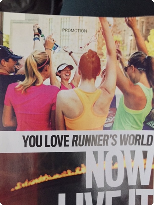 runners world promo