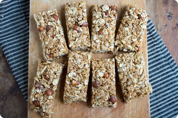 honey mustard granola bar recipe