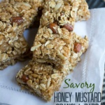 Savory Granola Bar Recipe