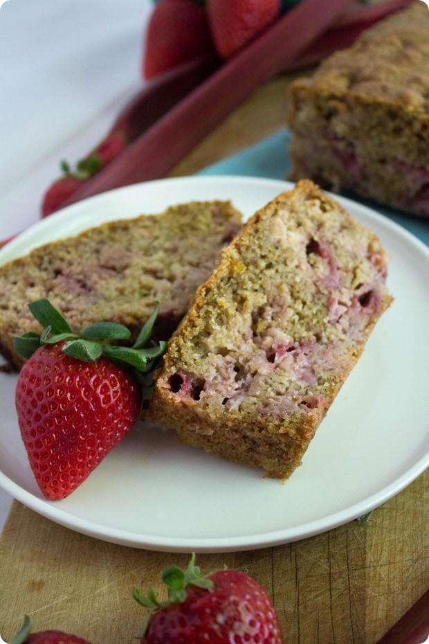 strawberry rhubarb bread 8