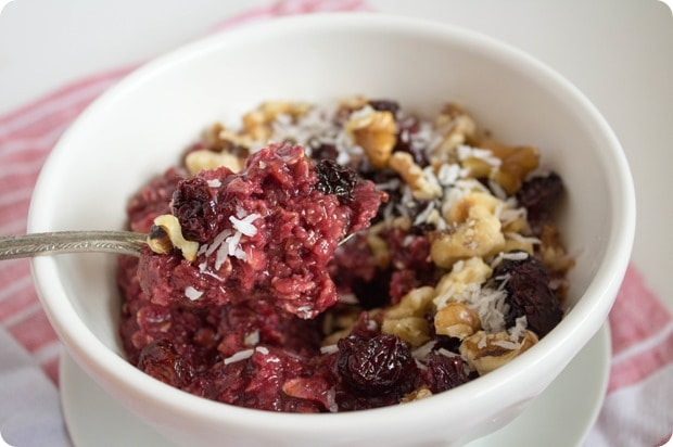 tart cherry oatmeal 7