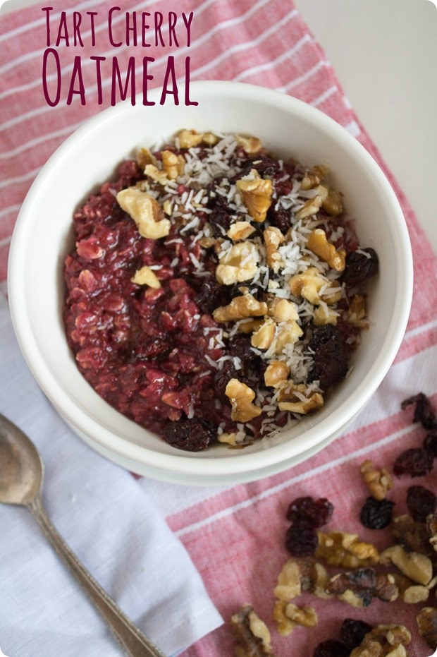 tart cherry oatmeal recipe