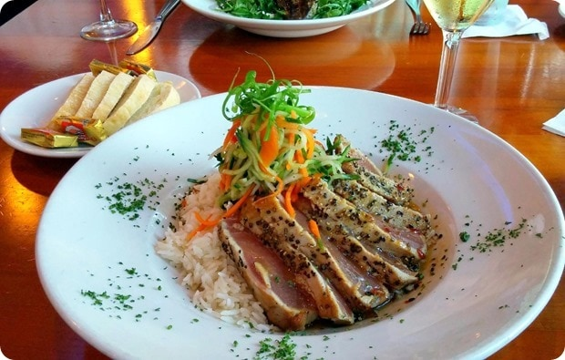 boulevard woodgrill clarendon dinner