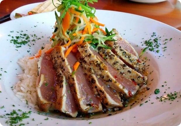 boulevard woodgrill tuna clarendon