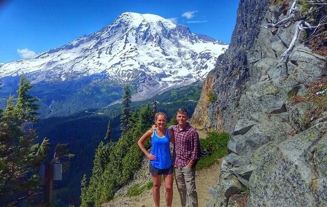 Hiking Mount Rainier National Park Fannetastic Food