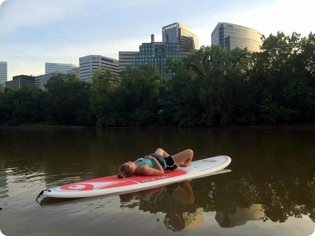 sup yoga relaxation
