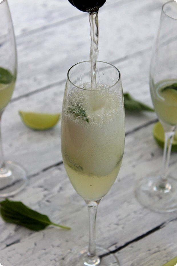 cucumber lime basil prosecco recipe
