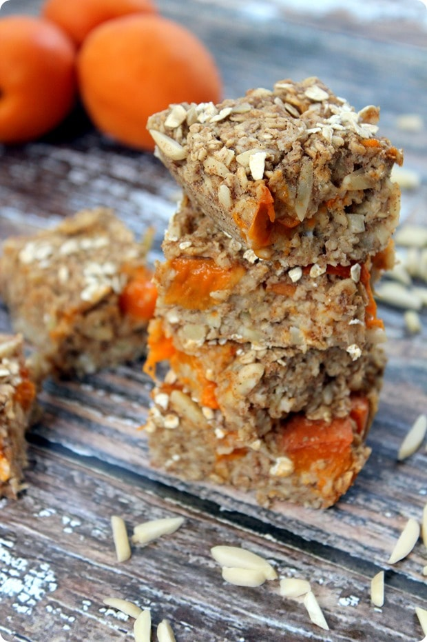 healthy apricot bar recipe