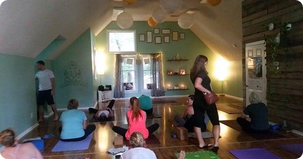duck village yoga studio