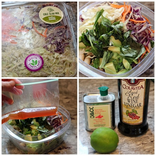 easy healthy packed lunch