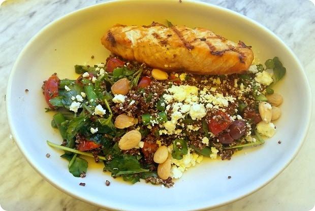 true food kitchen salmon quinoa salad