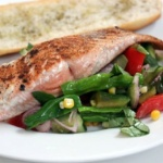 Easy Salmon Salad Dinner Idea