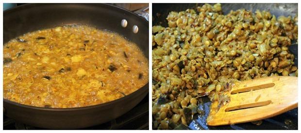 blue apron lentils